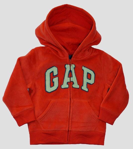 New baby Gap Authentic Boys Girls Fleece Arch Logo Hoodie ...