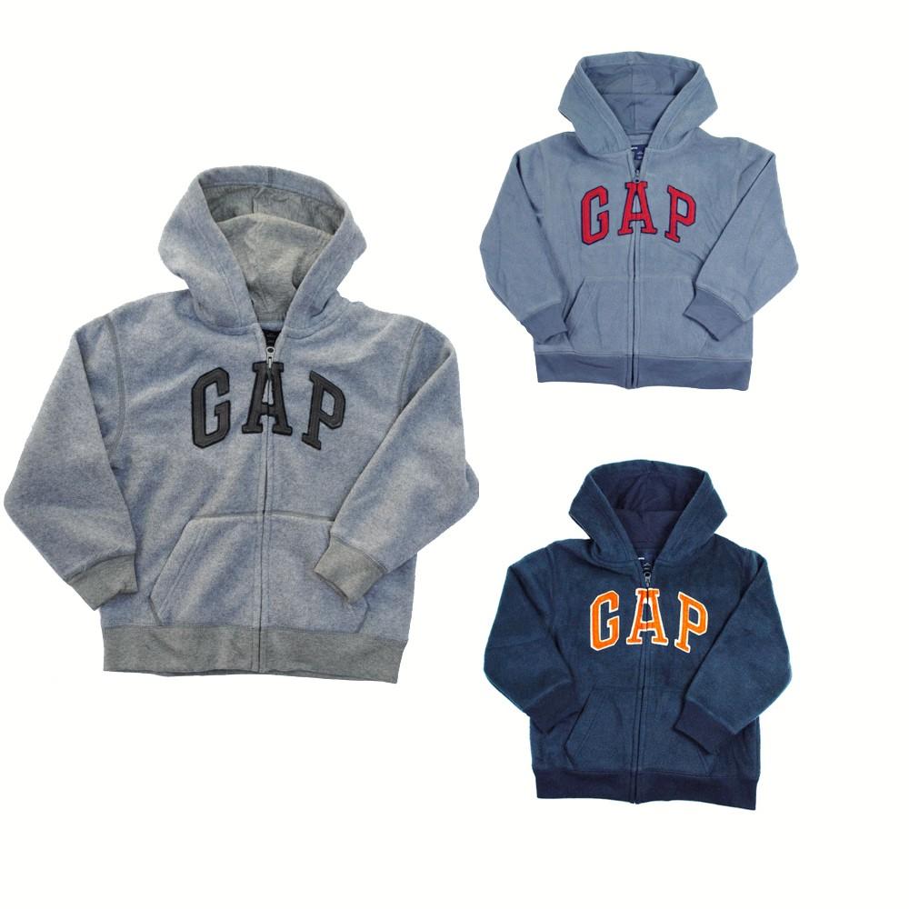 New Gap Kids Authentic Boys Girls Fleece Arch Logo Hoodie Sweater Jacket 4 - 13y