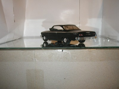 1962 CHEVY BEL  AIR DRAG CAR //SATIN BLACK
