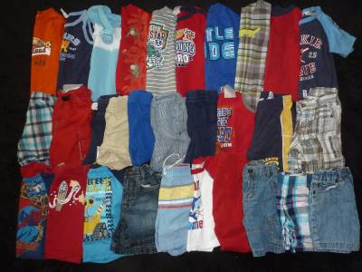 Baby Boys Clothes Lot 12 18 Months Spring Summer 30 Pieces Cute