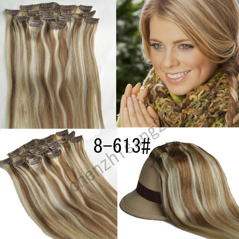 Dollie Hair Extensions Blonde Brown Mix Quality Hair Accessories