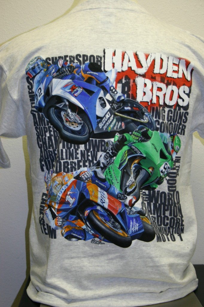 Hayden-Bros-T-Shirt-Nicky-Tommy-Roger-Lee-Gray-L-XL