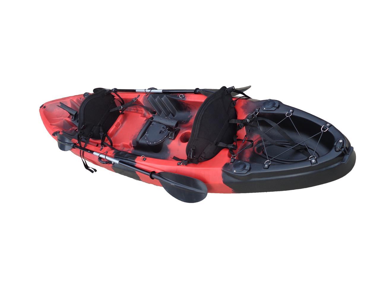 Double kayak single fishing kayak tandem kayak ocean canoe for Double fishing kayak