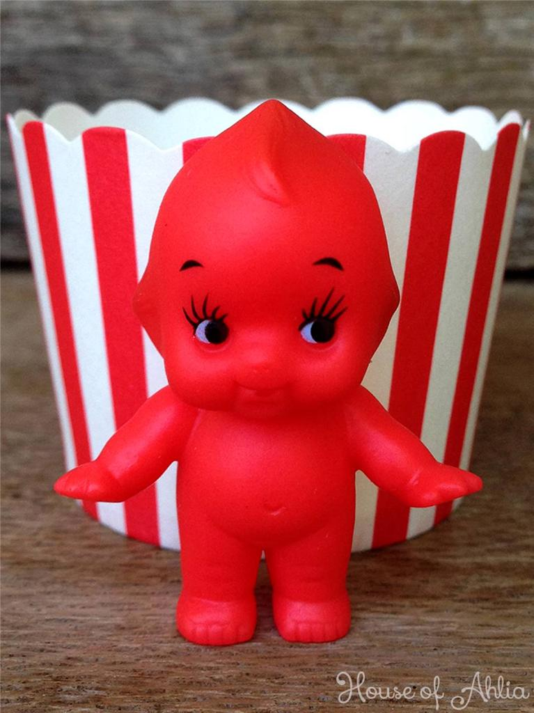 Baby Gifts From Japan : Kewpie doll red mini cm from japan baby shower gifts