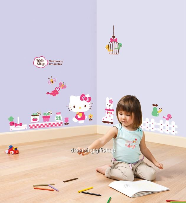 & GARDEN KIDS Adhesive Removable Wall Decor Accents Stickers Decals