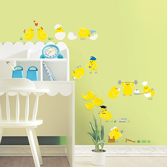 ROOM Adhesive Removable Wall Home Decor Accents Sticker Decal