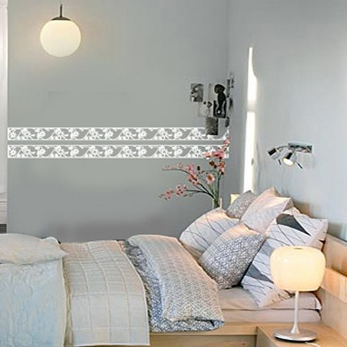 Wall Boarder Frame Adhesive Removable Wall Decor Accents GRAPHIC