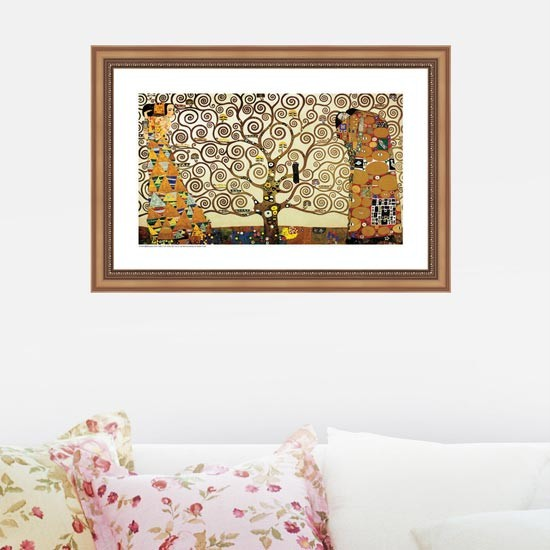 Tree of Life, Gustav Klimt Adhesive Removable Wall Decor Accents