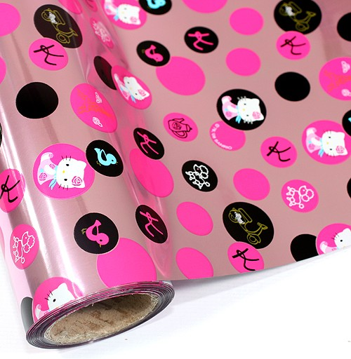 Hello Kitty Ream Roll Wrapping Gift Paper 59ft 18m Pink Ebay