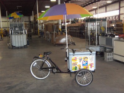 Ice Cream Bike Cart Vending Bicycle Tricycle With Music Ebay
