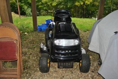 2006 yard machine lawn mower