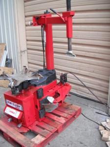 Coats 5060E Tire Changer Rim Clamp Electric / Air Heavy ...