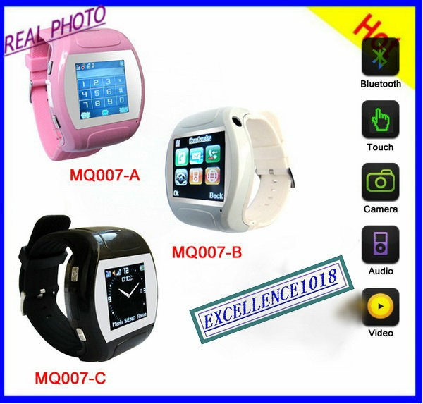 Wrist Watch Cell Phone GSM Mobile Quad Band ATT Tmobile