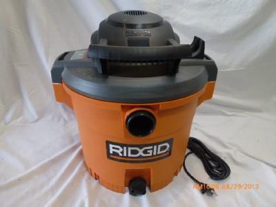 ridgid 14 gallon shop vac manual