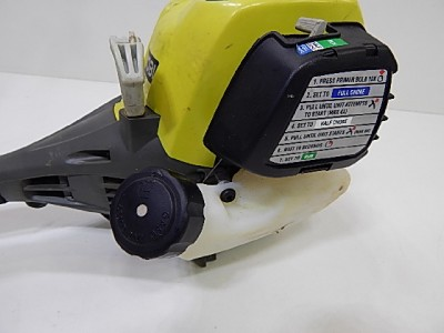 how to start ryobi 2 cycle trimmer