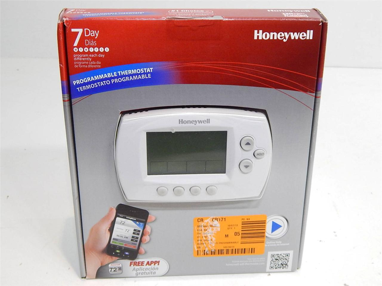 honeywell rth6580wf wifi 7 day programmable thermostat 12549 ebay