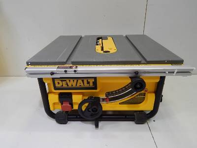 dewalt dw745 portable table saw review