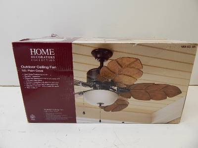 Home Decorators Collection 1000022305 Outdoor Palm Cove 52 Ceiling Fan 56637 Ebay