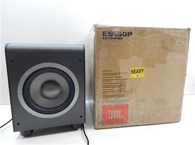 jbl es150p audio powered subwoofer sub system for