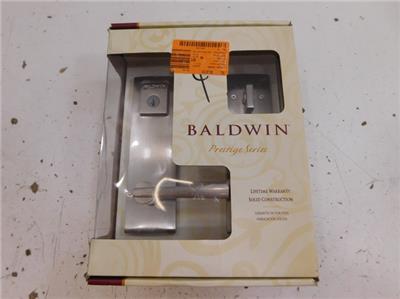 Baldwin 91830001 Front Entry Deadbolt Lock Door Handle Set 584719 D36 EBay