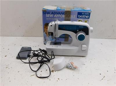Brother xl2600i sewing machine system 624222 e26 for Machine a coudre xl 2600 brother