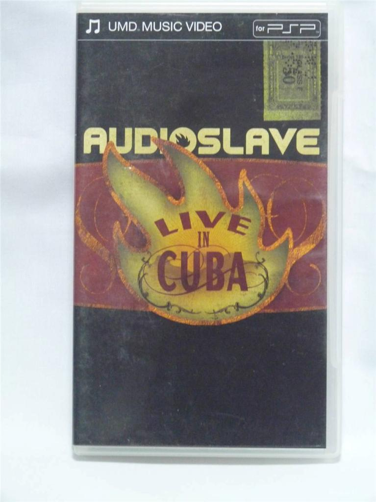 Audioslave-PSP-Music-Video-UMD-Sony-Portable-Playstation