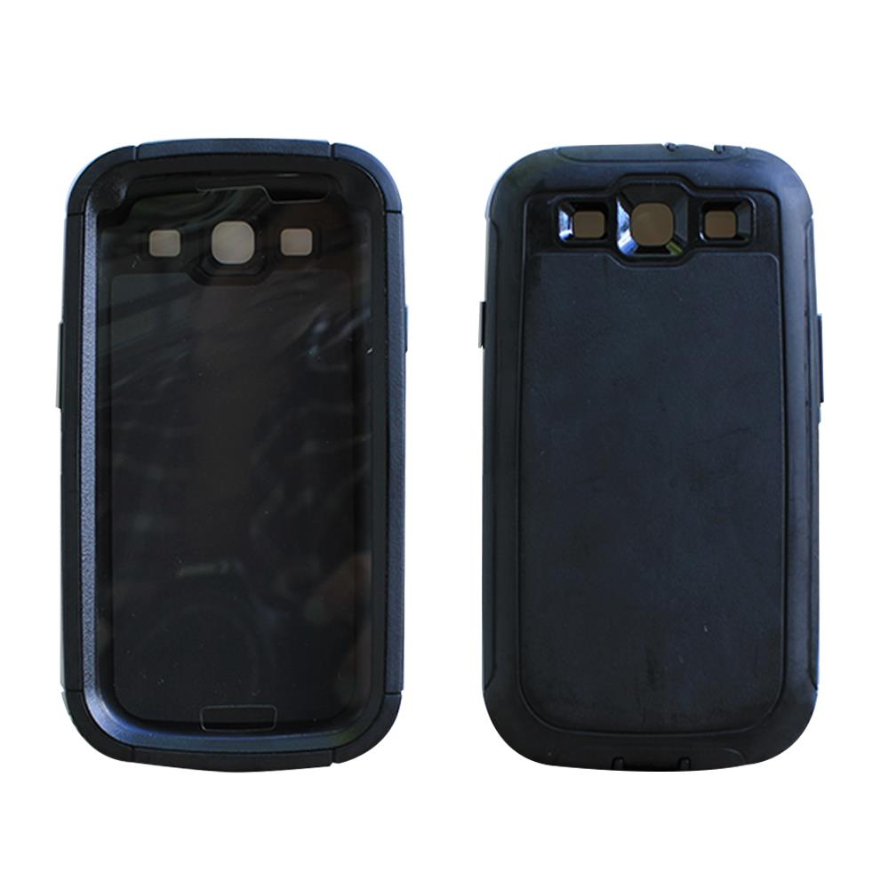 For-Samsung-Galaxy-S3-Built-In-Screen-Case-Fits-Otterbox-Defender-Belt ...
