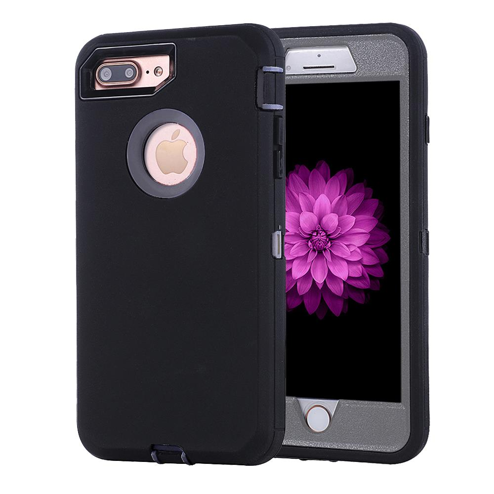 for iphone 6 6s 6 plus 7 7 plus case cover w belt clip fits otterbox defender ebay. Black Bedroom Furniture Sets. Home Design Ideas