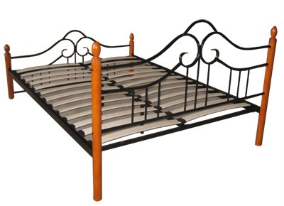 Wrought Iron Canopy  Frames on Wrought Iron Mattress Frames Pictures