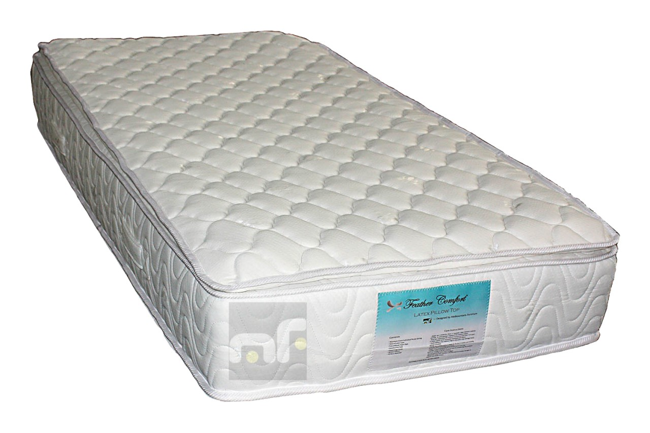 Single Size 28cm Thick Memory Foam Pillow Top Pocket Spring Bed Mattress Mpt S Ebay