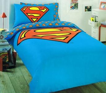 Dc Comics Superman Quot Logo Quot Reverse Print Double King