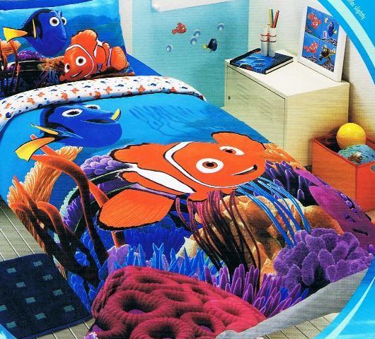 nemo bedroom. finding nemo wavy days 4 piece crib bedding set