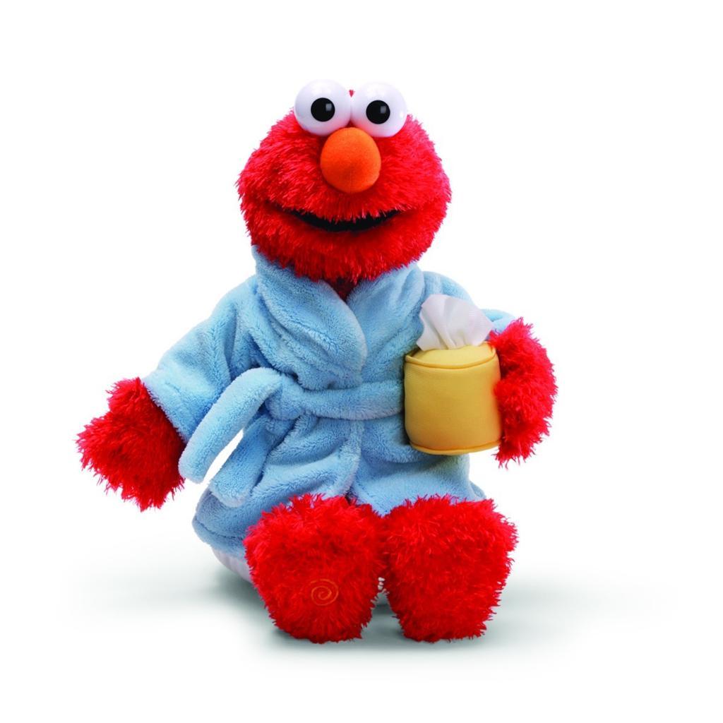 Sesame Street Elmo Toys : Gund sesame street elmo interactive talking soft toy