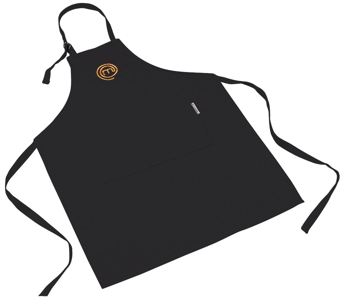 Masterchef apron (white) official merchandise -  New Genuine Masterchef Bib Apron Black Cooking Cooks