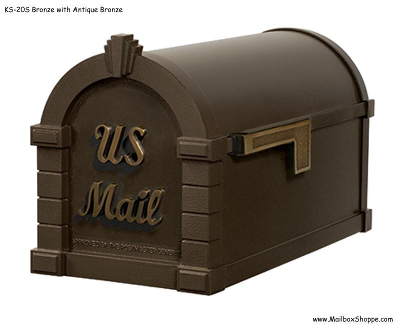 Aluminium Mail Box : Keystone mailbox signature design gaines aluminum mail