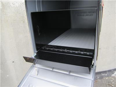 Lockable Secure Standard Large Size Mailbox including locking mail ...