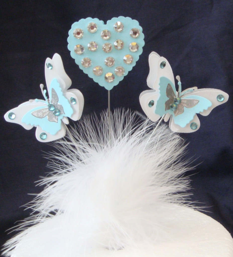 3d diamante butterfly heart birthday celebration cake for 3d decoration for birthday