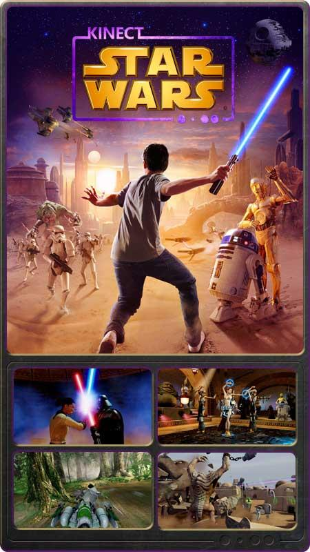Star Wars Game For Xbox 1 : Xbox kinect starwars game race dance pal players