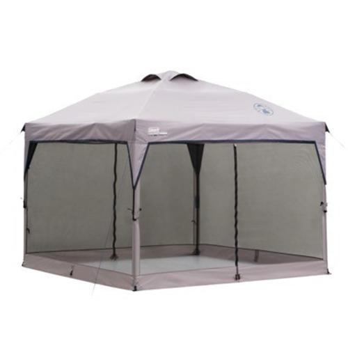 Coleman 10 10 Instant Canopy With Screen Walls : Coleman instant canopy screenwall accessory mesh walls for