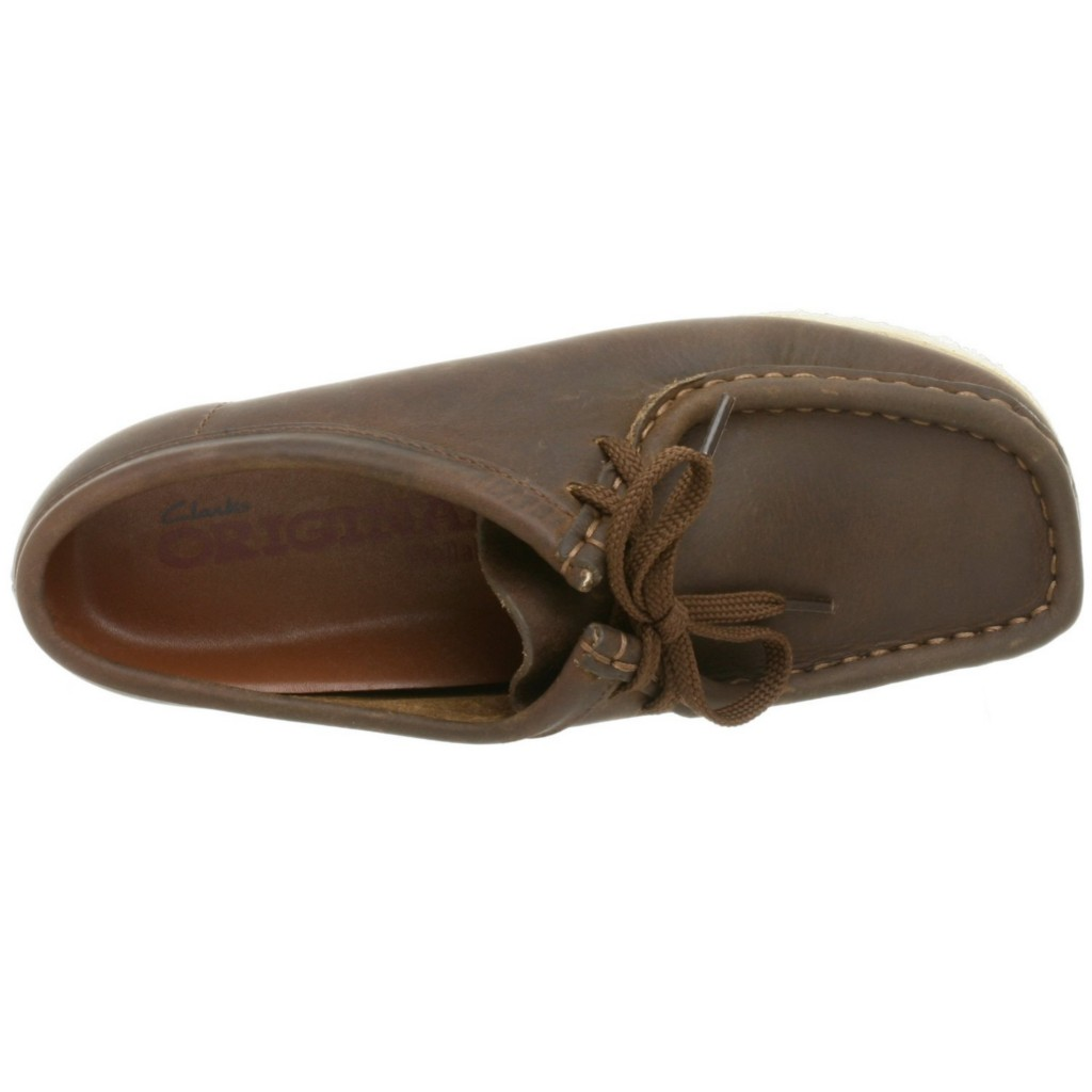 Clarks Women s Wallabee Oxfords Shoes Beeswax