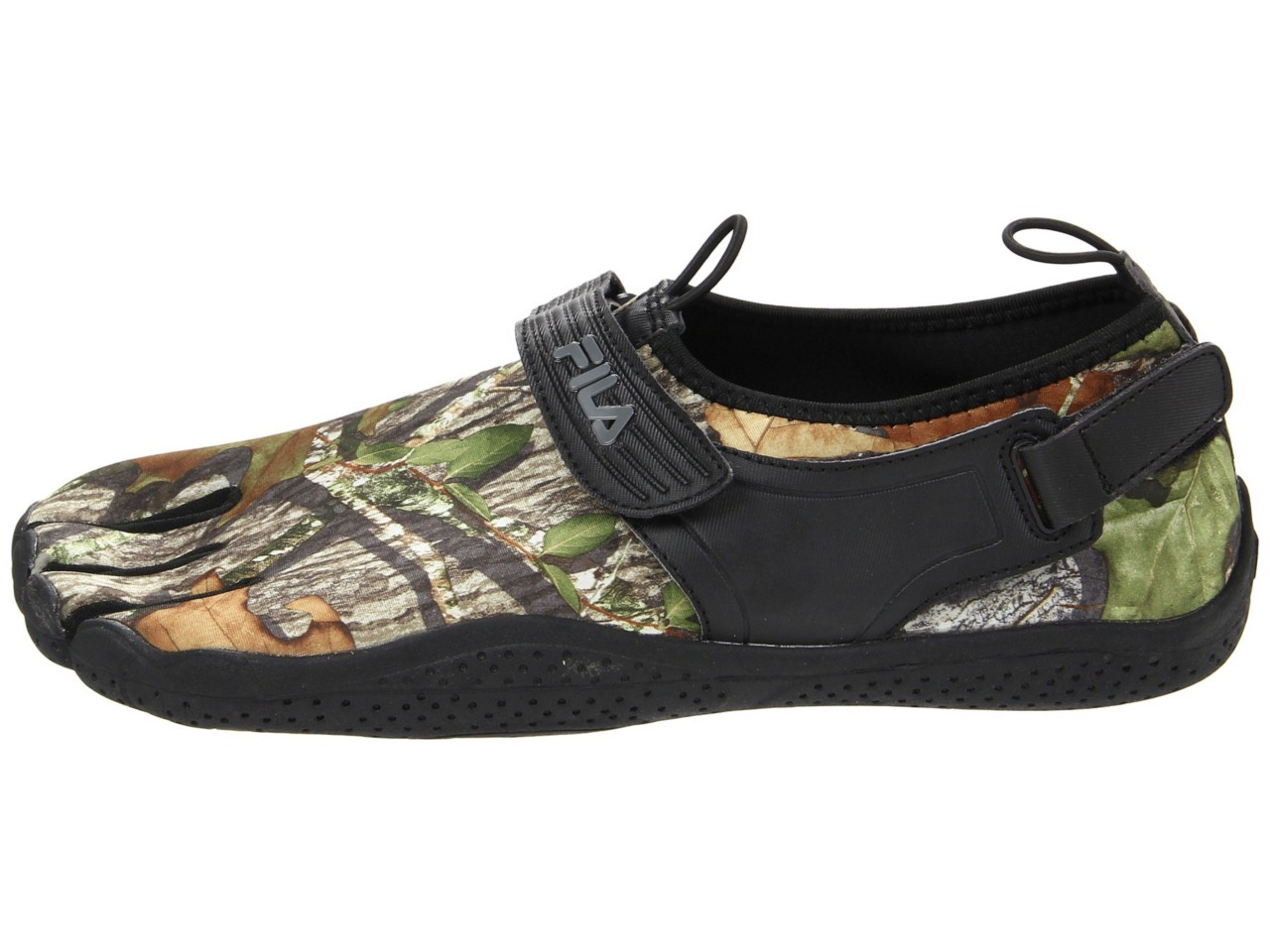 Fila Men S Skele Toes Camo Water Running Shoes Obsession