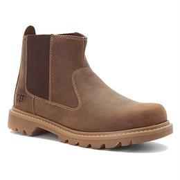 Caterpillar-Mens-CAT-Drysdale-6-Slip-On-Boots-Leather-Dark-Beige-P714970