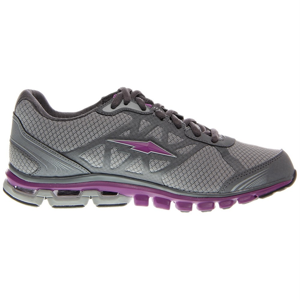 AVIA Women's A5781 Running Shoe's Chrome Silver Steel