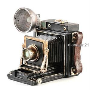Resin Antiqued Old Fashioned Camera Look Bank * Vintage Camera Look ...