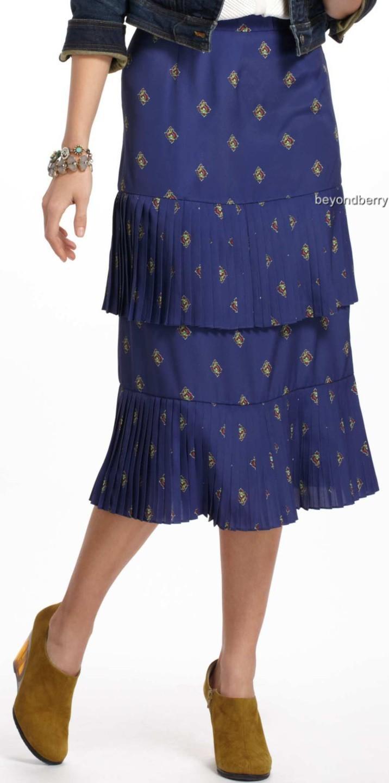 new anthropologie plenty by tracy reese chandra midi skirt