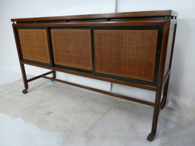 Michael Taylor Baker Furniture Mid Century Hollywood Regency Buffet Server Bar Ebay