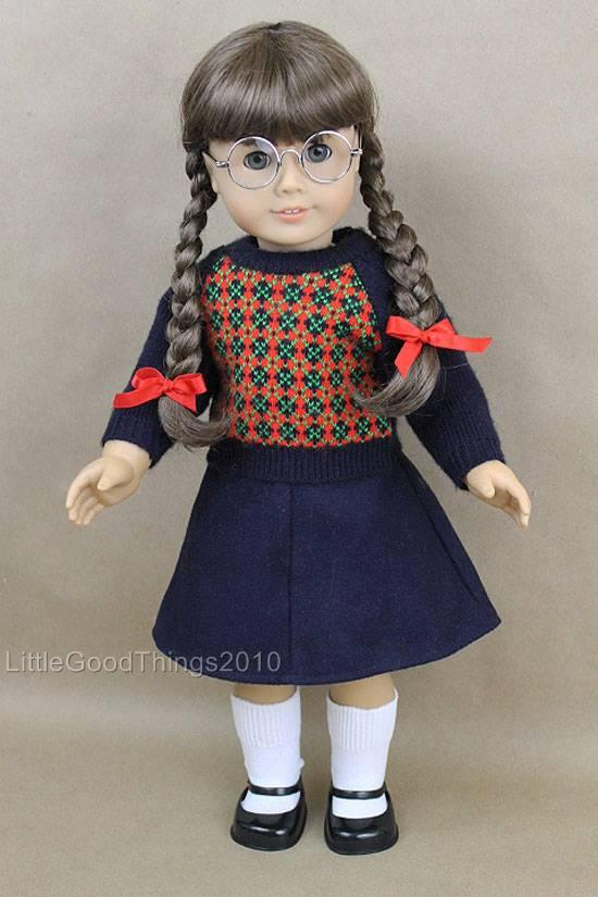 american girl doll 18 molly mcintire retired pleasant company dressed shoes ebay. Black Bedroom Furniture Sets. Home Design Ideas