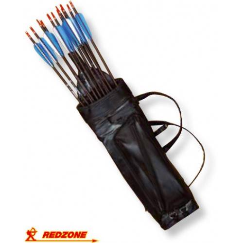 Redzone Black Vynil Back Quiver for arrows compound bows ...