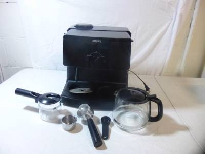 Krups Espresso Coffee Maker Xp1500 Manual : Krups XP1500 Coffee Maker and Espresso Machine Combination Black eBay