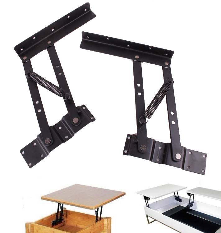 Lift Up Modern Coffee Table Mechanism Hardware Fitting Furniture Hinge Spring Ebay